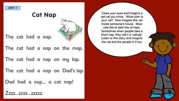 PREVIEW: Letterland Powerpoint Guides Grade 1-Unit 1 (ad, ap, at)