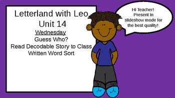 PREVIEW: Letterland Powerpoint Guides Grade 1-Unit 14 (Ending Blends)