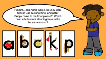 PREVIEW: Letterland Powerpoint Guides Grade 1-Unit 2 (ack, am, an)