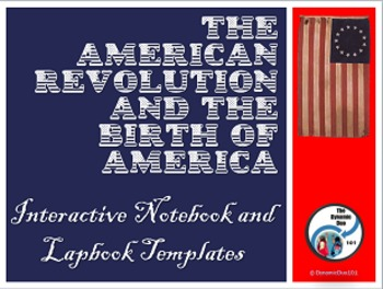 PREVIEW The American Revolution and Birth of America MEGA Bundle