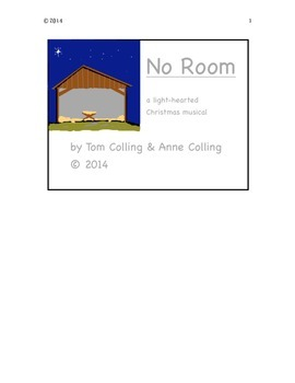 """PREVIEW for """"No Room"""" - a light-hearted Christmas musical"""