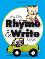 My Little Rhyme and Write Books