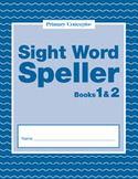 Sight Word Spellers: Books 1 & 2