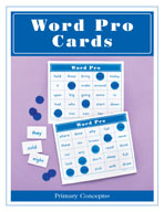 Word Pro Bingo Cards