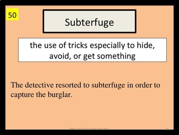 SET 3 Word of the Day PPT and Task Cards