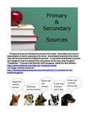 PRIMARY AND SECONDARY SOURCES (GRADES 6 - 8)