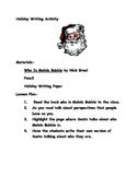 PRIMARY CHRISTMAS HOLIDAY WRITING ACTIVITY