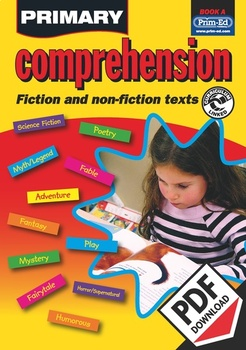 PRIMARY COMPREHENSION: BOOK A EBOOK (Y1/P2)