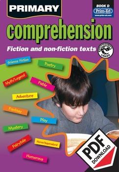 PRIMARY COMPREHENSION: BOOK D EBOOK (Y4/P5)