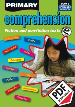 PRIMARY COMPREHENSION: BOOK E EBOOK (Y5/P6)