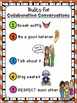 PRIMARY Collaborative Conversations FREEBIE {Rules and Recording Sheet}