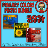 Photos Photographs PRIMARY Color Red Blue Yellow BUNDLE