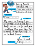 PRIMARY LETTER WRITING TEMPLATES FOR ANY SEASON!