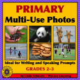 PRIMARY MULTI-USE PHOTOS • IDEAL FOR WRITING AND SPEAKING PROMPTS • GRADES 2–3