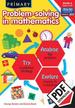 PRIMARY PROBLEM-SOLVING IN MATHEMATICS: BOOK A EBOOK (Y1/P2)