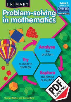 PRIMARY PROBLEM-SOLVING IN MATHEMATICS: BOOK E EBOOK (Y5/P6)