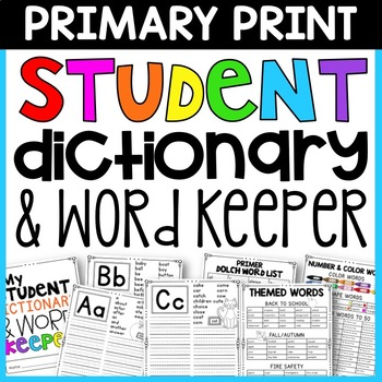 PRIMARY Super Spelling Keeper
