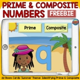 PRIME AND COMPOSITE NUMBERS FREEBIE: BOOM DIGITAL CARDS: S