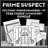 {Primes and composites} {prime number task cards} {Prime number review}