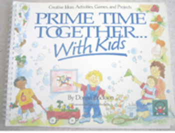 PRIME TIME TOGETHER WITH KIDS creative ideas activities games projects Incl ship