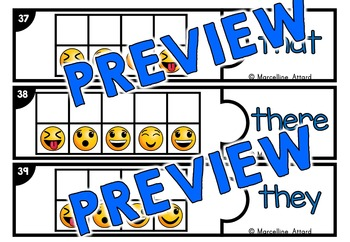 PRIMER SIGHT WORDS GAME KINDERGARTEN (EMOJI THEME CRACK THE CODE ACTIVITY PUZZLE