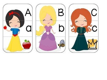 PRINCESSES: Math and Literacy Activities