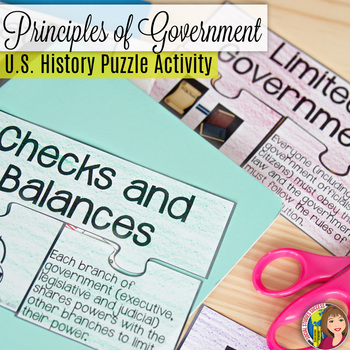 PRINCIPLES OF GOVERNMENT Puzzle