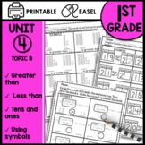 Place Value and Greater Than and Less Than Worksheets