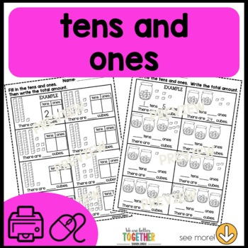 PRINT AND GO Math Sheets