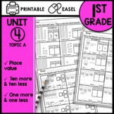 Math Worksheets 1st Grade Place Value