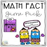PRINT & GO: Basic Fact Math Game Pack