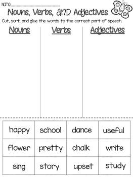 PRINT & GO: Grammar Printables