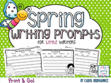 PRINT & GO Spring Writing Prompts