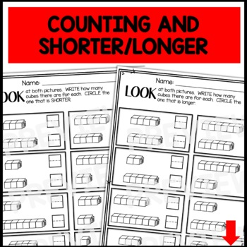 PRINT and GO Math Sheets for Kindergarten (Unit 3)