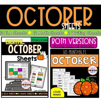 PRINT it & Teach! OCTOBER