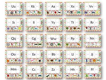 PRINT-N-GO {A-Z Letter Sets}