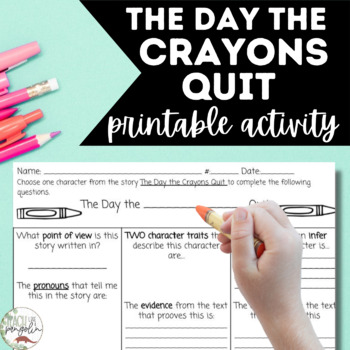 Book review the day the crayons quit