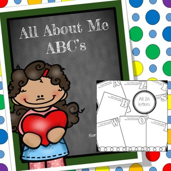 All About Me ABC Book