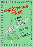 PRINTABLE CHRISTMAS TREE! *Write your wishes!*
