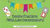 PRINTABLE-Domino Fractions (with like denominators)