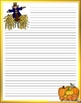 PRINTABLE HALLOWEEN STATIONERY --  for all of your Halloween writing projects!