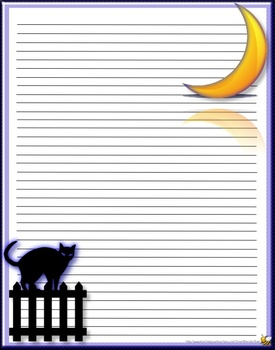 Printable Halloween Stationery For All Of Your Halloween Writing Projects