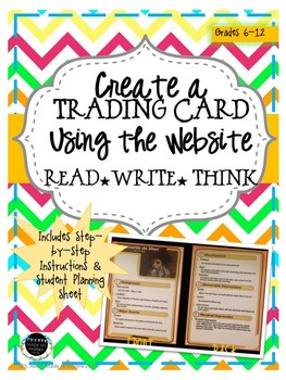 PRINTABLE INSTRUCTIONS for Creating a Trading Card Online