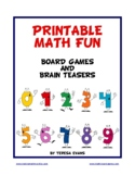 PRINTABLE MATH FUN - Math Board Games And Brain Teasers
