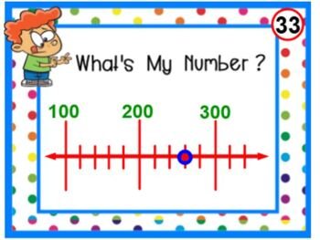 PRINTABLE Number Line Card Set