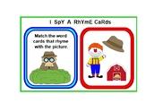 PRINTABLE Rhyming Words CARD SET