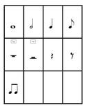 PRINTABLE Rhythm Flashcards
