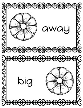 Spring Sight Words, Hands On Spelling