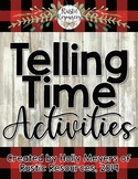 PRINTABLE - Telling Time to the Hour And Half-Hour Activit