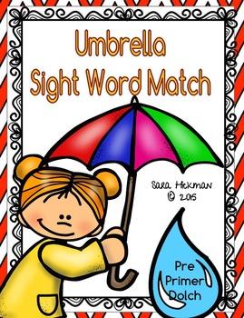 Spring Sight Word Spelling
